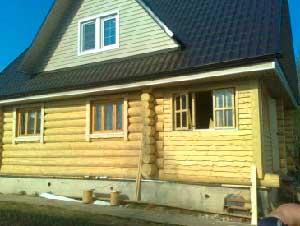Преимущества домов из оцилиндрованного бревна.