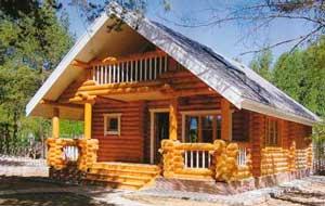 Дома из оцилиндрованного бревна Дмитров, Талдом, Запрудня